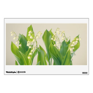 Lily of the Valley Flowers Wall Sticker
