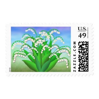 Lily of the Valley Garden Flowers Postage