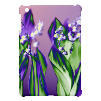 Lily of the Valley in Lavender iPad Mini Covers