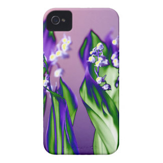 Lily of the Valley in Lavender iPhone 4 Cover