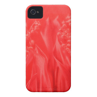 Lily of the Valley in Red iPhone 4 Case