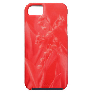 Lily of the Valley in Red iPhone SE/5/5s Case