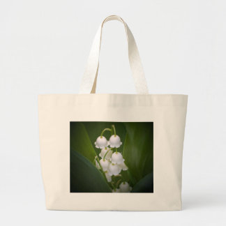 Lily-Of-The_Valley Large Tote Bag