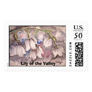 lily_of_the_valley, Lily of the Valley Postage