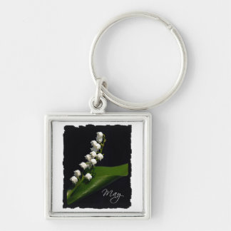 Lily of the Valley - May Keychain