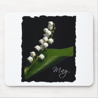Lily of the Valley - May Mousepads