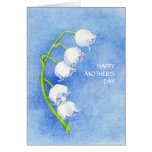Lily of the Valley Mother's Day Card