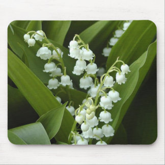 Lily Of  The Valley Mouse Pad