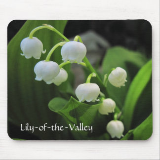 Lily-of-the-Valley Mousepads