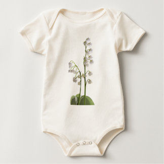 lily of the valley on gifts baby bodysuit