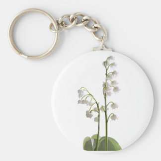 lily of the valley on gifts keychain