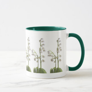 lily of the valley on gifts mug