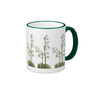 lily of the valley on gifts ringer mug