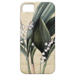 Lily of the valley on pride and prejudice text iPhone 5 case
