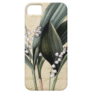 Lily of the valley on pride and prejudice text iPhone SE/5/5s case