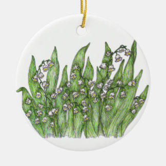 Lily of the Valley Christmas Tree Ornament