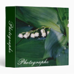 Lily of the Valley Photo Binder