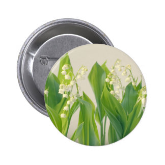 Lily of the Valley Pinback Button
