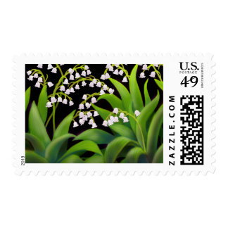 Lily of the Valley Postage Stamp