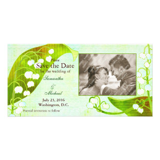 Lily of the Valley: Save the Date Photo Cards