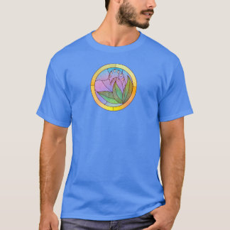 Lily of the Valley Stained Glass Look T-Shirt