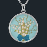 """Lily of the Valley Sterling Silver Necklace<br><div class=""""desc"""">Lily of the Valley Necklace.</div>"""