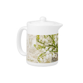 Lily Of The Valley Teapot