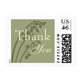 Lily of the Valley • Thank You Stamp