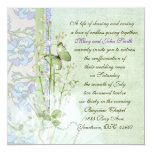 Lily of the Valley Vow Renewal Invitation