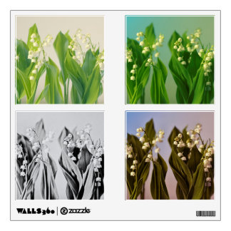 Lily of the Valley Wall Decal