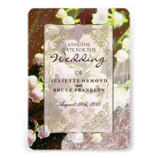 Lily Of The Valley Wedding Invitation Collection