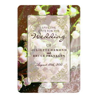 Lily Of The Valley ~ Wedding Invitation Collection
