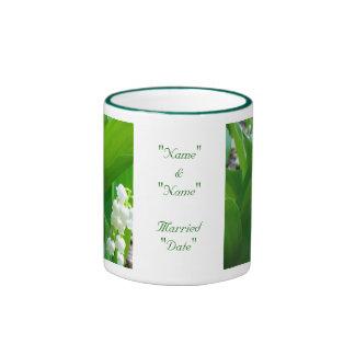 Lily of The Valley Wedding Mug