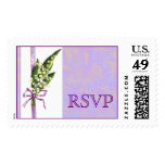 Lily of the Valley WEDDING RSVP postage