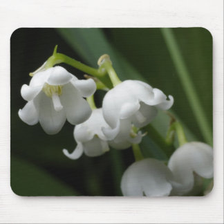 Lily of valley mouse pads