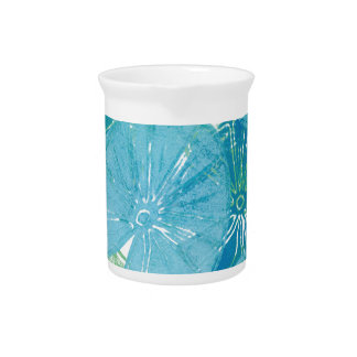 Lily Pad blues Drink Pitcher