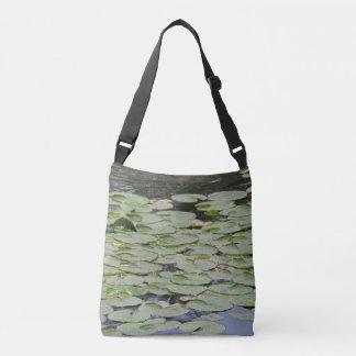 Lily Pad Crossbody Tote Bag