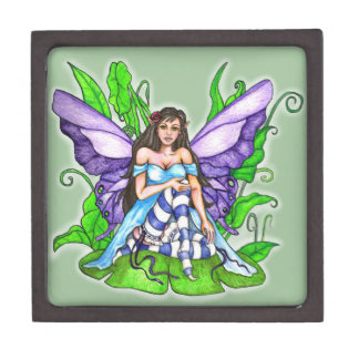 Lily Pad Fairy Gift Box