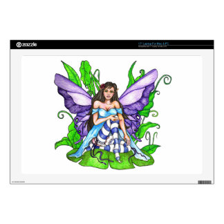 Lily Pad Fairy Laptop Skins