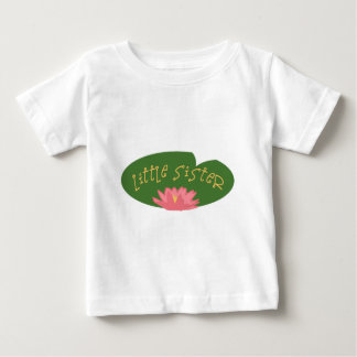 Lily Pad Little Sister Baby T-Shirt