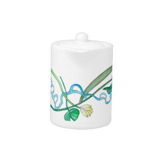 lily pad teapot