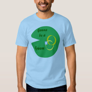 Lily Pad Wedding - Gonna be a Groom T-Shirt