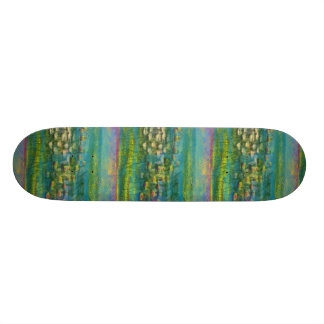 Lily Pads and Flowers  Design Skateboard