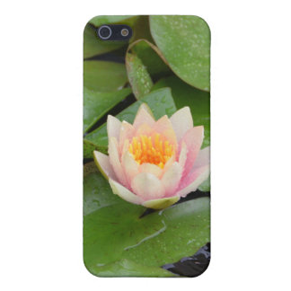 Lily Pads and Pink Flower Speck iPhone Case
