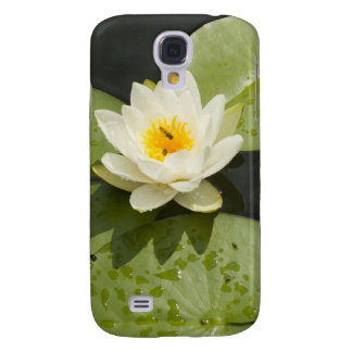 Lily Pads and White Lotus Flower Galaxy S4 Case