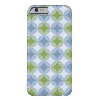 Lily Pads (Blue & Green Stars) Barely There iPhone 6 Case