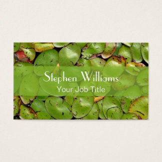 Lily Pads Business Card