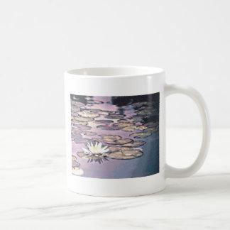 Lily Pads Drawing Coffee Mug