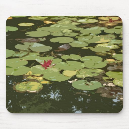 Lily pads Impressionism Art Mouse Pad