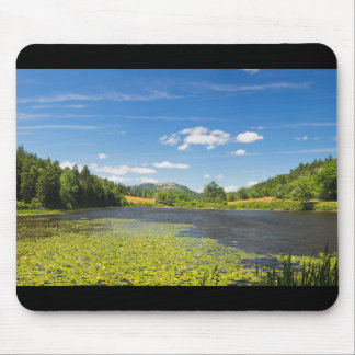 Lily Pads on Long Pond Acadia National Park Mouse Pad